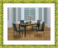Table with 4 chairs free delivery brand new McLean