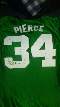 green and white # 12 jersey Denver, 80204