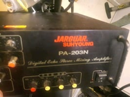 Jarguar suhyoung digital echo stereo mixing amp  pa-203n