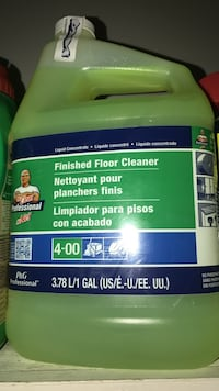 Finished floor cleaner containre Eastover, 29061