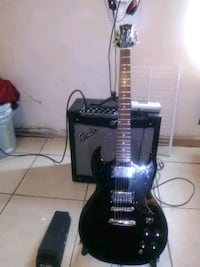 Silverton guitar ,fender amp,and  Bakersfield, 93304