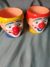 Joker Circus Clown Cups