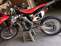 2014 Honda crf250r March Air Reserve Base, 92518