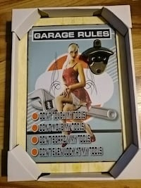 Garage rules sign Halifax, B3R 1W4