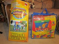 Like New! 6-in-1 Playhut $15 ; Monster basketball $8 Mechanicsburg