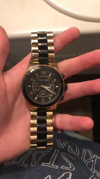 Gold and Black Michael kors watch  Greenville, 29605