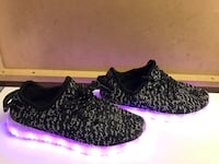 pirate black yeezy boost 350 with led sole Dallas, 75227
