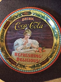 Collectors. coca-cola metal tray Wilmington, 19808