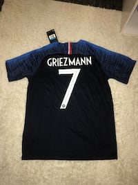 2018 medium authentic France antione Griezmann jersey Fairfax, 22030