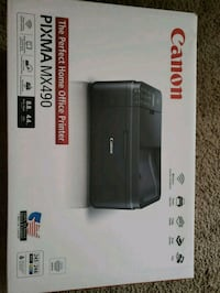 black and gray Canon Pixma printer box Springdale