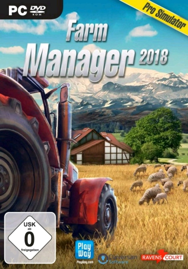 Farm Manager 2018 Neu