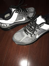 pair of gray-and-black Nike running shoes Palmdale, 93550