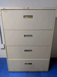 Heavy Duty 4-Drawer Lateral File Cabinet