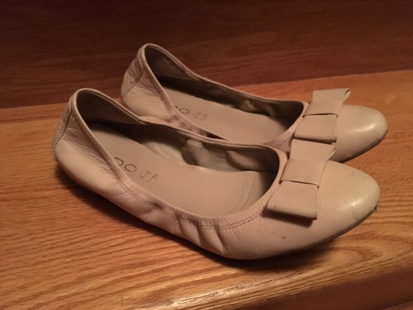 74114cef6cb Used Light pink leather flats from ALDO for sale in Vaughan - letgo