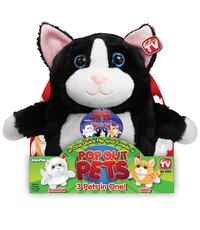 Pop Out Pets Kittens, Reversible Plush Toy, Get 3 Stuffed Animals in One Toronto, M4B 2T2