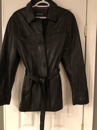 Large Leather Jacket (Like New) only worn a few times! 269 mi