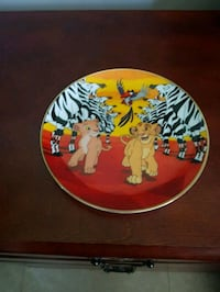 Lion king collectors plate  Kitchener, N2H 4T6