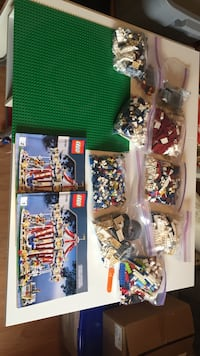 Grand Carousel Lego (Complete) No Box Calgary