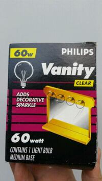 Vanity Decorative Clear Bulbs