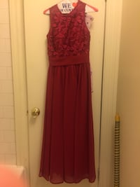 Red floral sleeveless maxi dress Baltimore, 21202