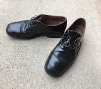 Free Used Bacco Bucci Black Men's Dress Shoes - SOLE COMING OFF San Diego, 92131