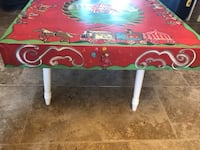 Custom Hand Painted Circus Table New Braunfels, 78132