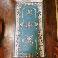 Beautiful vintage 80s asian influence runner
