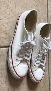 Pair of white converse all star low-top sneakers Vaughan, L4K 5W4