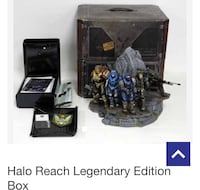 Halo reach legendary edition box (no game included) Tehachapi, 93561