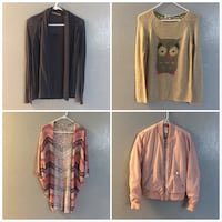 Sweaters size small and medium ask price  Colorado Springs, 80917