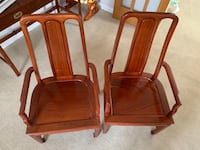Set of 2 rosewood arm chairs Dumfries, 22025