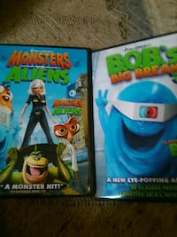 Monsters vs aliens with Bob's big break. In 3d London, N5W 2Y8