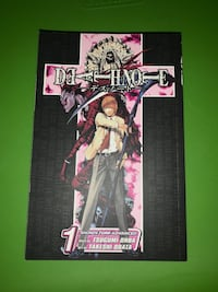 Death Note manga 1 and 2
