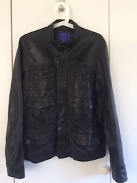 100% Leather jacket for men + free winter jacket Oslo, 1263