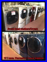 Variety of front load washer and dryer 10% off Reisterstown, 21136