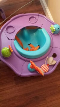 baby's purple and blue floor seat Sanger, 93657