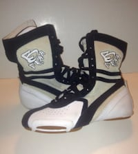Hip Hop Dance Shoes B Free By Frontline White And Black Laceup London