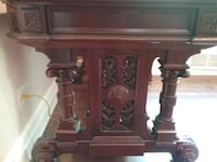 brown wooden cabinet with drawer Hudson, J0P