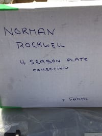 Norman Rockwell Collectors plates (67) London, N6H 4W9