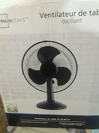 12 inch brand new. Table / side fan. Mississauga