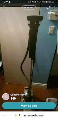black and gray upright vacuum cleaner Montréal, H1E 2A4