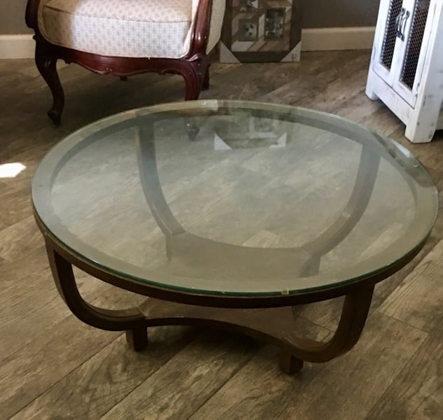 Round Coffee Table 3 Feet Diameter