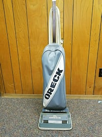 gray Oreck upright vacuum cleaner Richmond, 47374