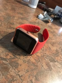 BNIB Android and IPhone capable smart watch super great screen and works perfect brand new I have the box as well. Chilliwack, V2R 3Y8