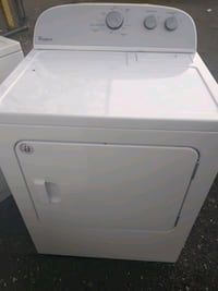 Whirlpool heavy duty steam dryer