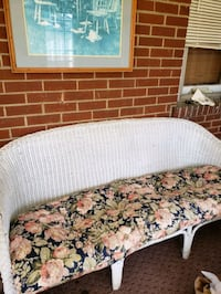 Vintage Wicker Couch Bethlehem