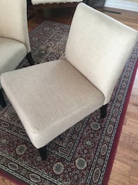 Two accent chairs (delivery available $)