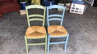 4 dining chairs ($20 each) Hampstead, 28443