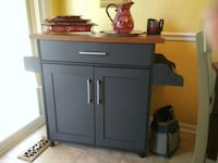 Alberta kitchen cart-gray Newark, 19711