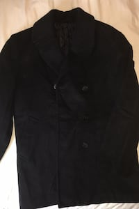 Men's Ralph Lauren Black Peacoat 40R & MORE
